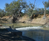 Burtundy Weir, Lower Darling