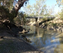 Mehi River at Hicky Bridge
