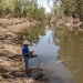 Monitoring water quality in the Mehi River as the flow progresses, January 2020