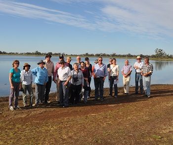 Murrumbidgee Environmental Water Advisory Group at Hobblers Lake
