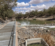 Weir 32, lower Darling-Baaka River