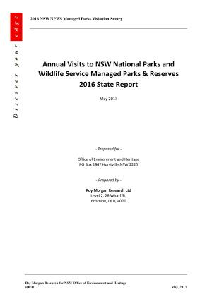 Annual Visits to NSW National Parks and Wildlife Service Managed Parks and  Reserves 2016 State ReportDownload d3fad848f