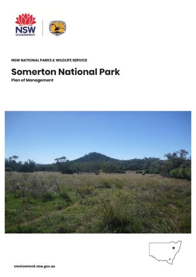 Somerton National Park Plan of Management