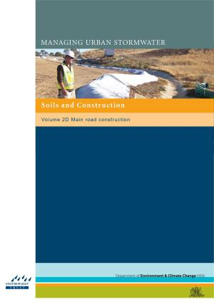 Construction Blue Book >> Managing Urban Stormwater Soils And Construction Volume 2d