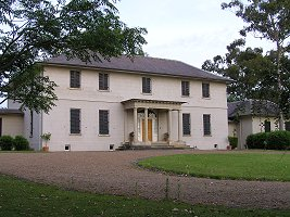Old Government House, Parramatta, built by convicts in 1799 and extended by Governor Macquarie in 1816