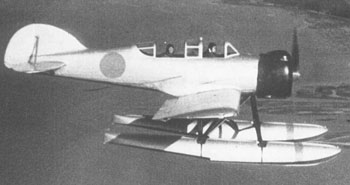 The Yokosuka Glen seaplane. Source http://www.ijnafphotos.com/jbwe141.htm