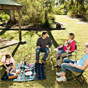 Girrakool picnic area in Brisbane Water National Park (Image: Evolving Images/DECCW)