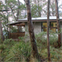 Side view of The Chalet accommodation in New England National Park (Image: Michael van Ewijk/DECCW)