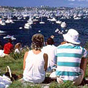 Watching the start of the Sydney to Hobart yacht race. (Image: I.Charles/DECC)