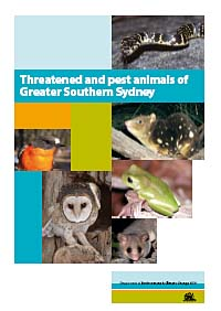 cover of Threatened and pest animals of Greater Southern Sydney