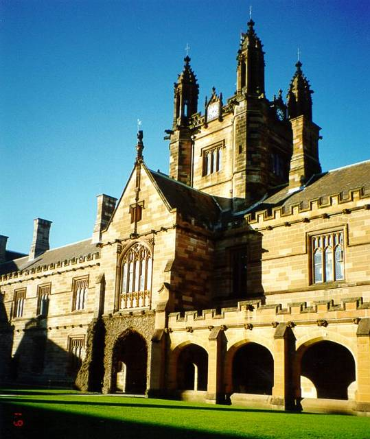 Main Building Group Pictures: Main Building And Quadrangle Group, University Of Sydney